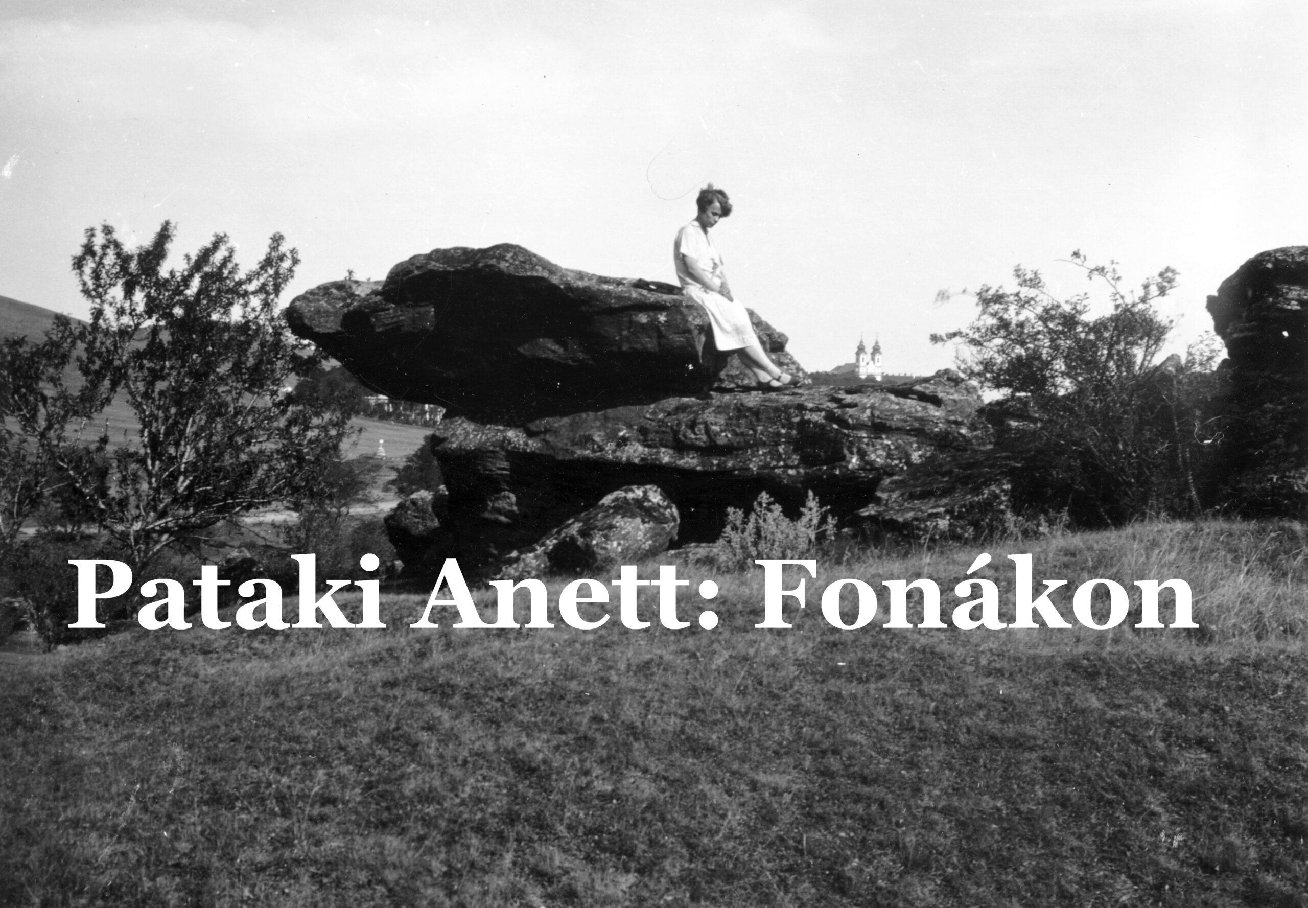 Pataki Anett: Fonákon